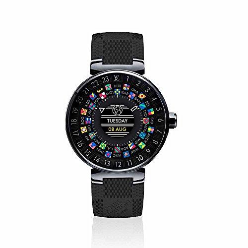 ルイ・ヴィトン LOUIS VUITTON LV 腕時計 (メンズ) QA002Z タンブール ホライゾン ブラック スマートウォッチ / コネクテッド ウォッチ / デジタル時計【ブティック】【並行輸入品】