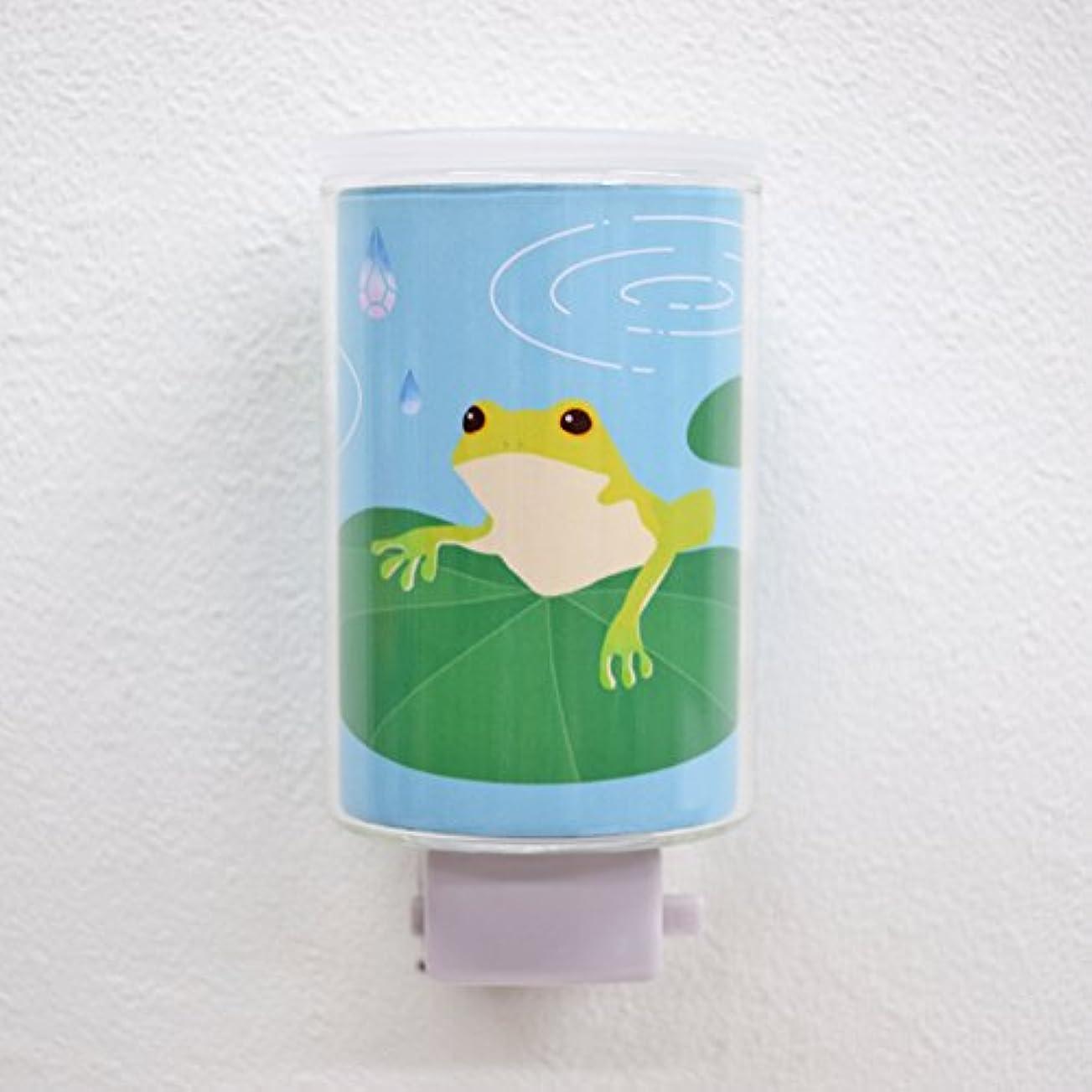 ベンチ実装するメッシュモチーフアロマライト カエル