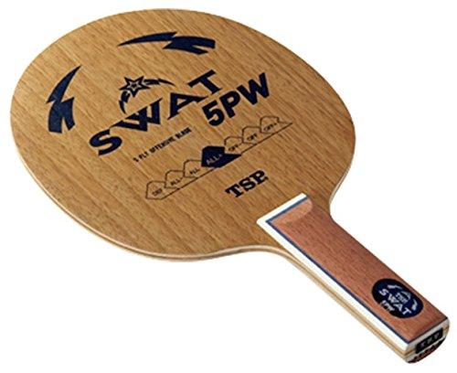 ティーエスピー(TSP) 卓球 ラケット スワット5PW グリップST 026385
