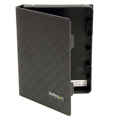 StarTech 2.5インチ ハードディスク用静電気防止プロテクトケース HDD収納・保管用保護ケース 3個りパック HDDCASE25BK