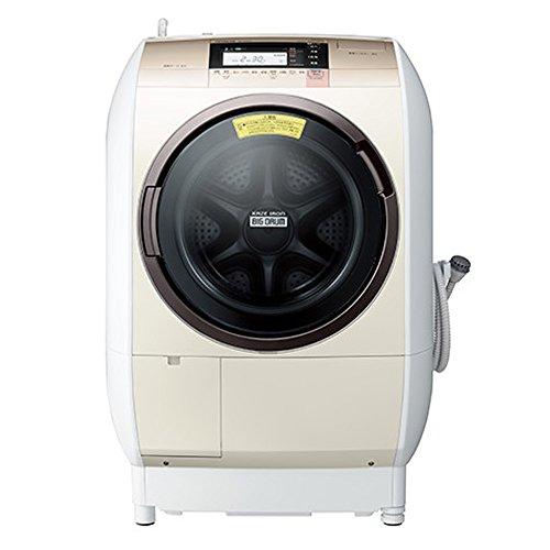 日立 ドラム式洗濯乾燥機 ビッグドラム 左開き 11kg シャンパン BD-V9800L N