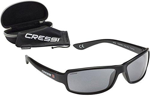 Cressi フローティング 偏光 サングラス UV100% カット Ninja スポーツ 水に浮く ハードケース付き (日本正規品)