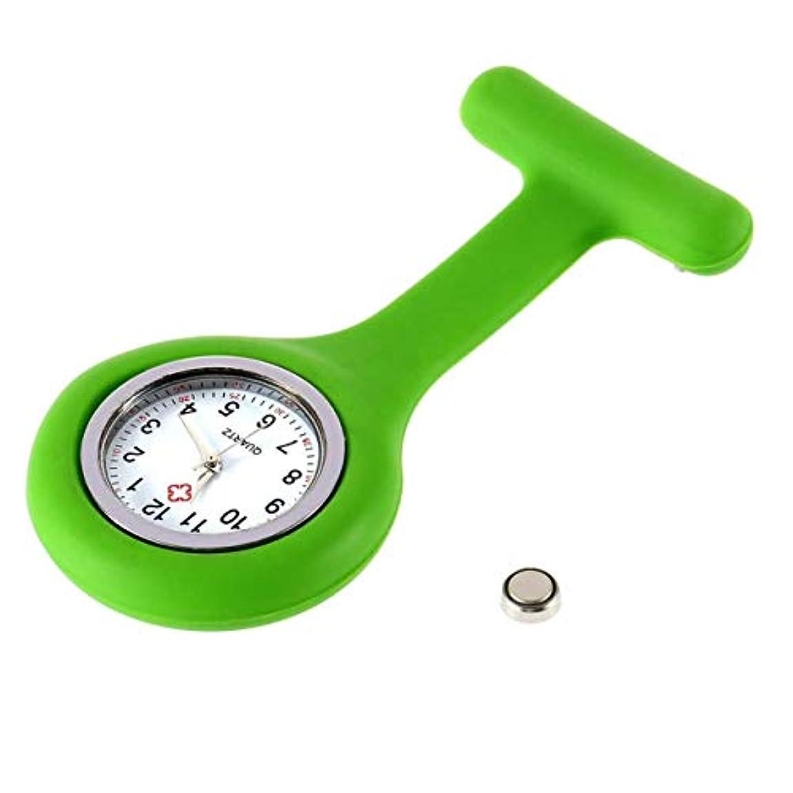 名目上のタバコなめるDeeploveUU 携帯用シリコーンのゲル医者看護師のブローチPinのポケットFobのコンパクトの魅力的な医学のチュニックの腕時計