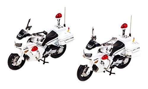 RAI'S 1/43 ホンダ VFR800P 2002-2008 神奈川県警察交通取締用自動二輪車 2台セット 第一交通機動隊/第二交通機動隊