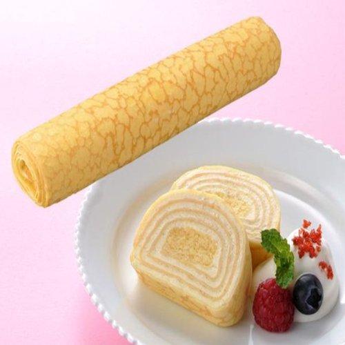 フレック フリーカットケーキミルクレープロール(プレーン) 275g  冷凍