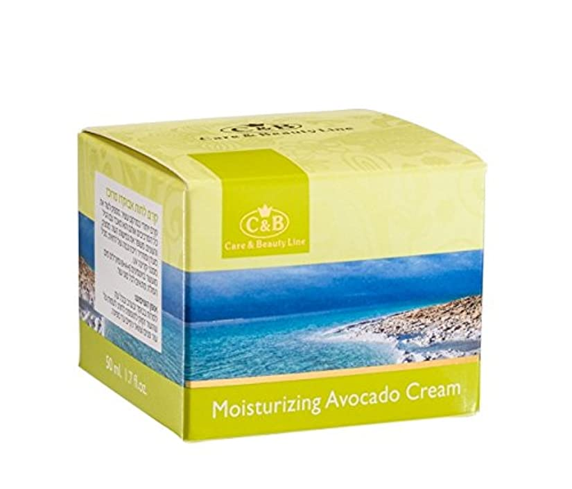 すべき後ろにインク濃縮アボカド潤いクリーム 50mL 死海ミネラル Concentrated Moisturizing Avocado Cream