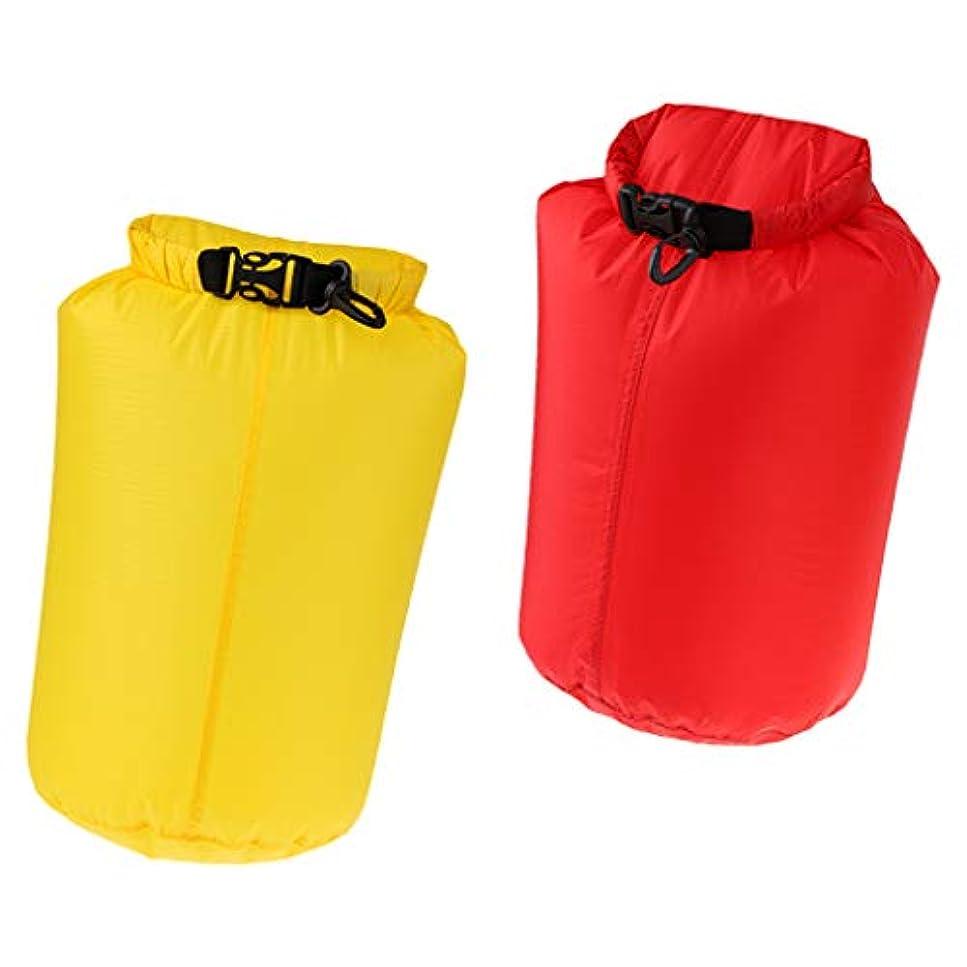 引っ張る床を掃除する捧げるPerfeclan ナイロン カヤック スイミング ラフティング用 2個 10L 防水ドライバッグ サックポーチ