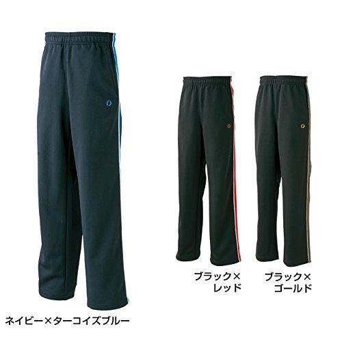 イグニオ(IGNIO) ジュニア(キッズ・子供) トレーニングウェア(ジャージ) パンツ (IG-9A46526JP) ブラックXレッド 150cm