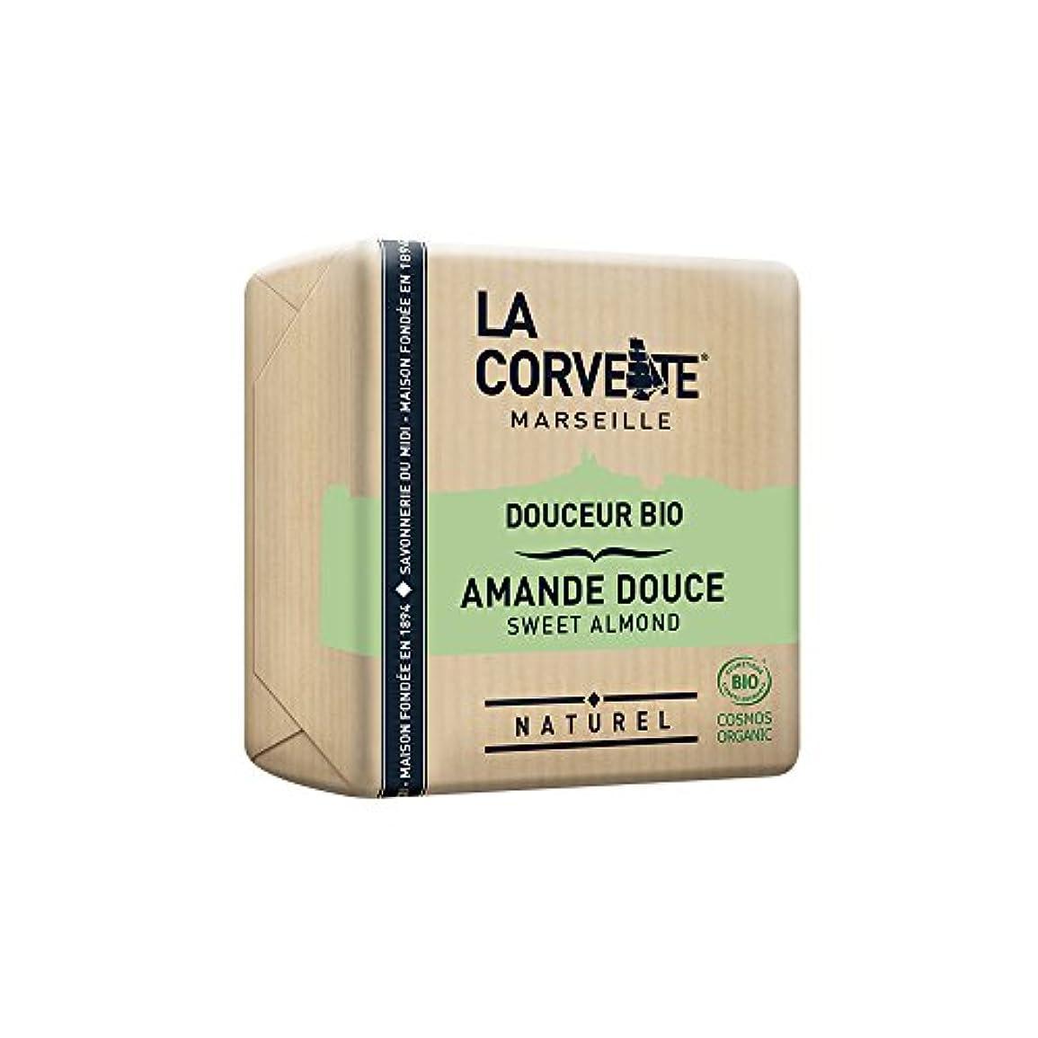 ハーフショッピングセンター天才La Corvette(ラ?コルベット) サボン?ドゥスール?ビオ スウィートアーモンド 100g
