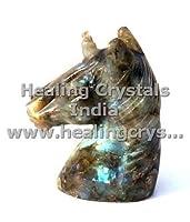 Natural Gemstone Labradorite Staue Unicorn Sculpture