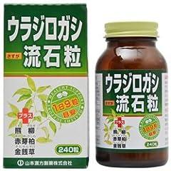 【山本漢方製薬】ウラジロガシ 流石粒 240粒 ×10個セット