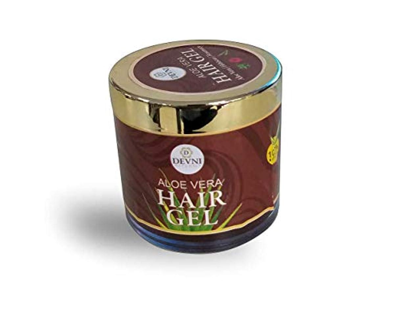 ハリウッドアルプス補正Aloe Vera Hair Gel 100 gm - 100% natural Hair Gel for stronger Hair Growth - Promotes Scalp Health & Anti Hair...