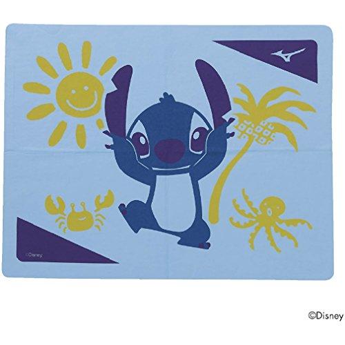 MIZUNO(ミズノ) スイムキャップ スイムタオル ディズニー リロ&スティッチ 高吸水 セームタオル N2JY8092 19:サックス