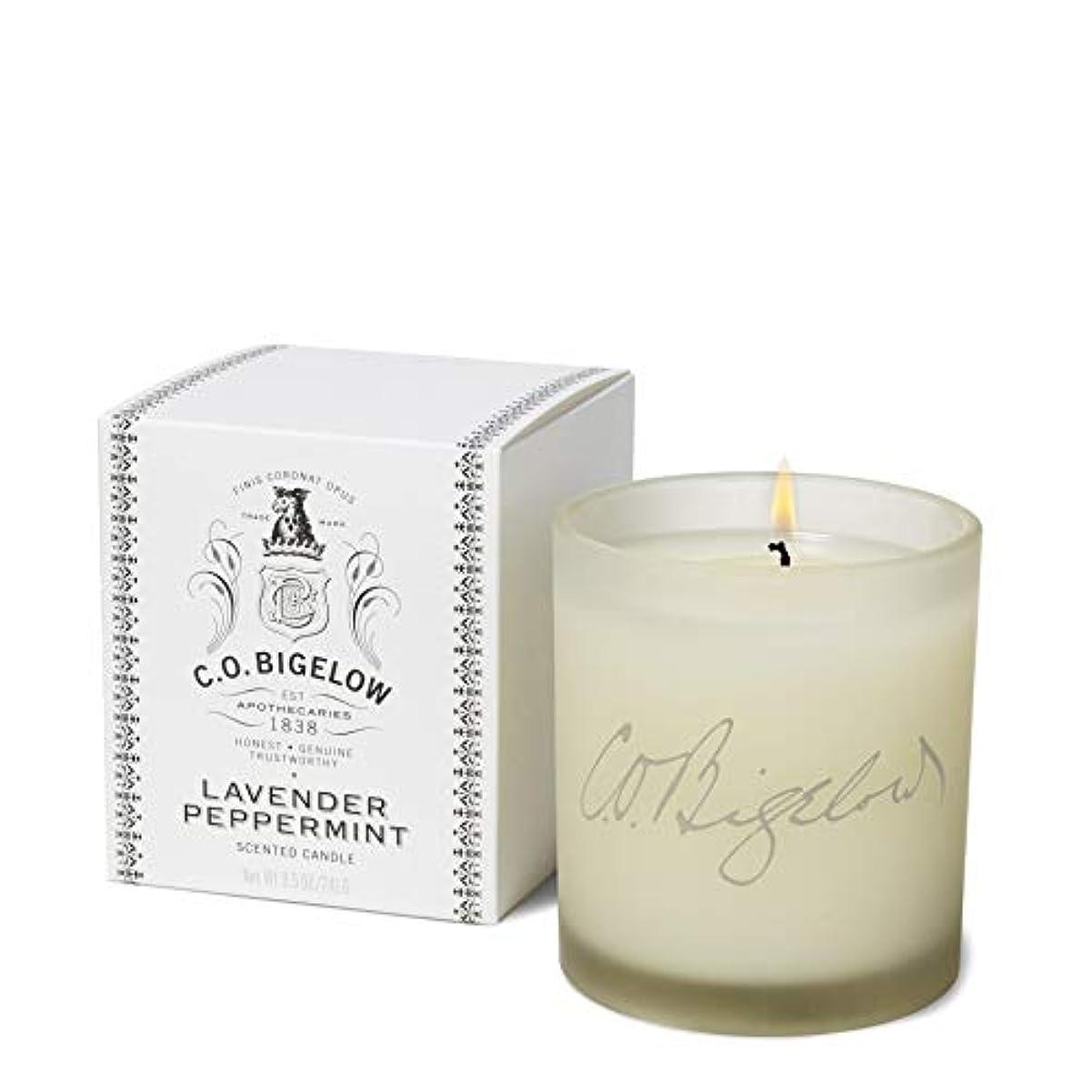 抜粋透ける爆風[C.O. Bigelow] C.O.ビゲローラベンダーペパーミントキャンドル - C.O. Bigelow Lavender Peppermint Candle [並行輸入品]