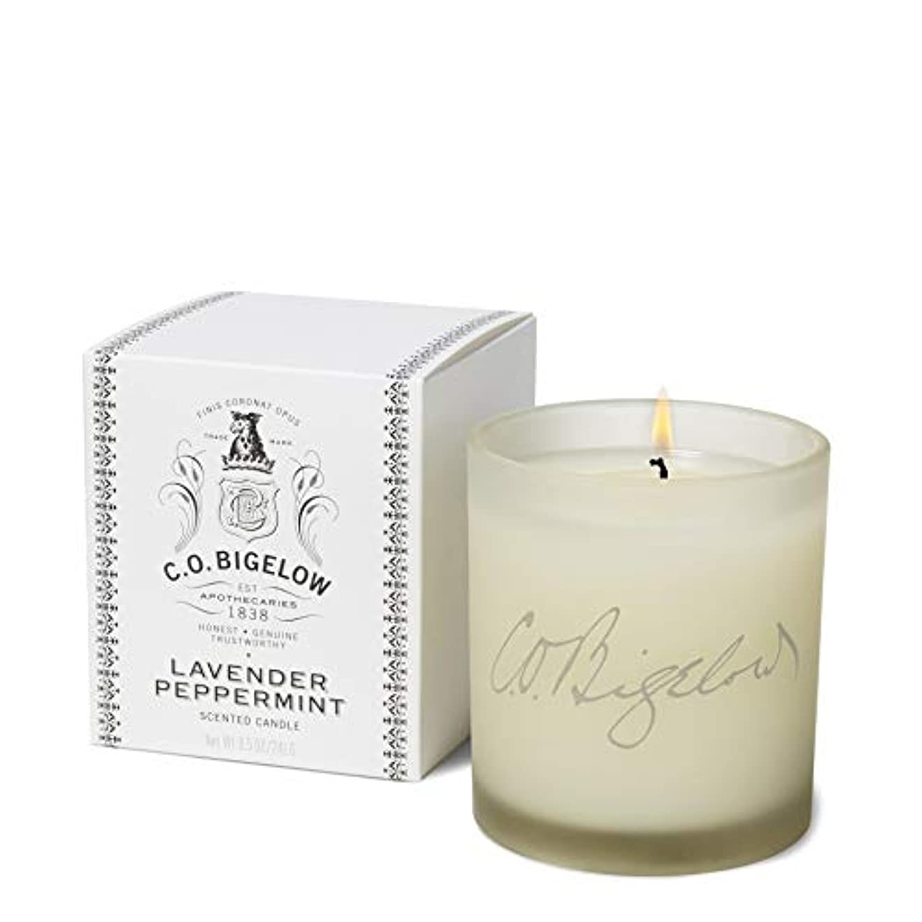 彼ら開業医コインランドリー[C.O. Bigelow] C.O.ビゲローラベンダーペパーミントキャンドル - C.O. Bigelow Lavender Peppermint Candle [並行輸入品]