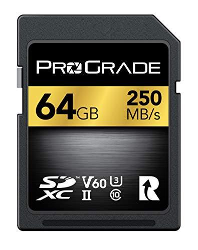 ProGrade Digital (プログレードデジタル) SDXC UHS-II V60 250R