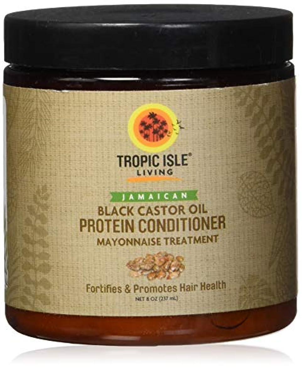 杖影響力のある毎回Jamaican Black Castor Oil Protein Hair Conditioner by Tropic Isle Living