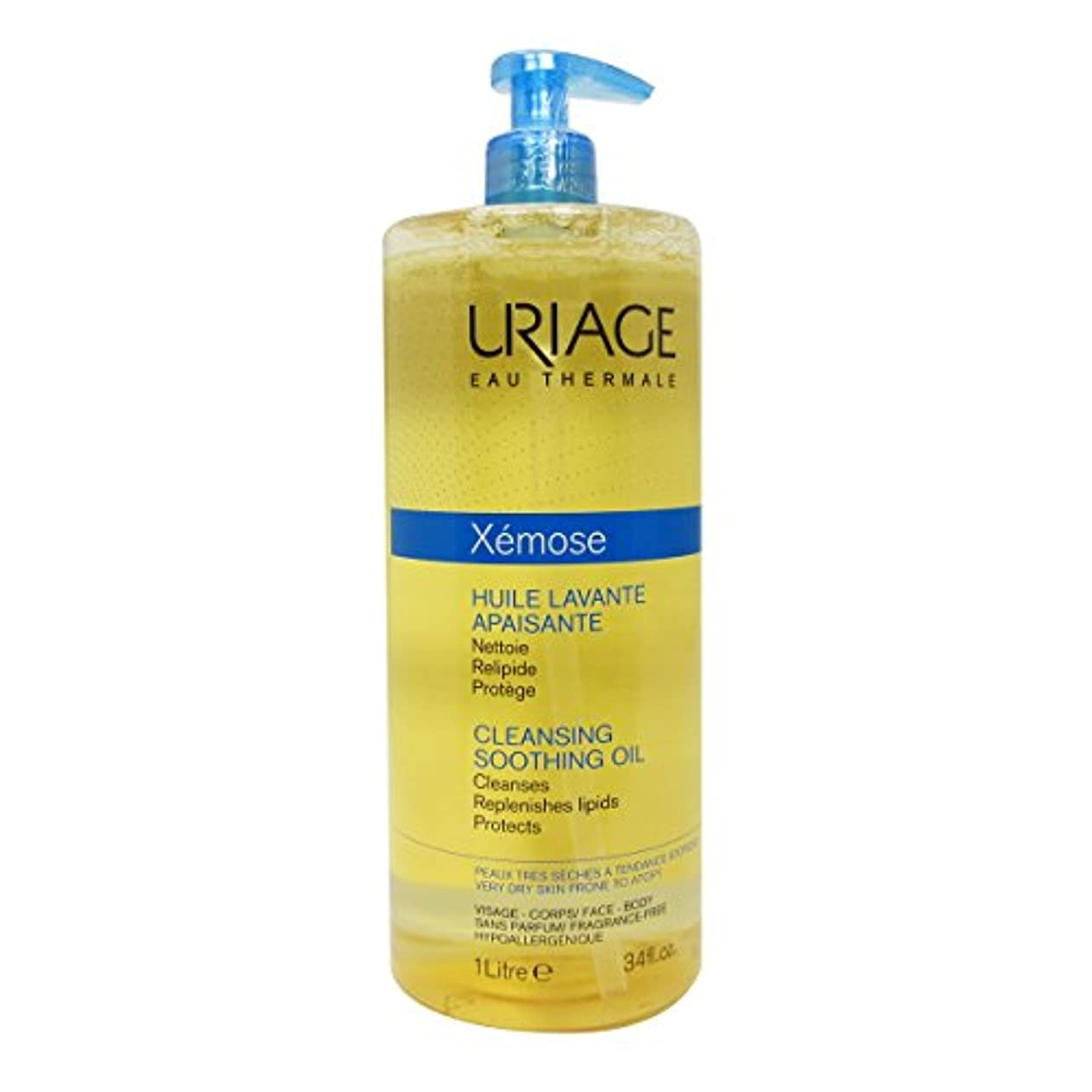 Uriage Xemose Smoothing Cleansing Oil 1000ml [並行輸入品]