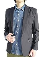 (オークランド) Oakland スーツ地 TR テーラード ジャケット テイラード 春 夏 スプリング サマー 長袖 ブレザー デザイン メンズ