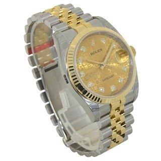 (ロレックス)ROLEX ロレックス 腕時計 デイトジャスト コンビ 116233G ジュビリーコンピューター [並行輸入品]
