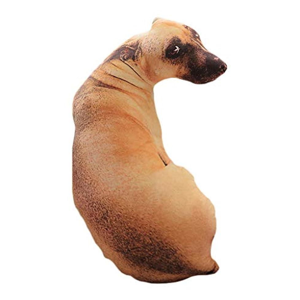 迫害するほぼハイジャックLIFE 装飾クッションソファおかしい 3D 犬印刷スロー枕創造クッションかわいいぬいぐるみギフト家の装飾 coussin decoratif クッション 椅子