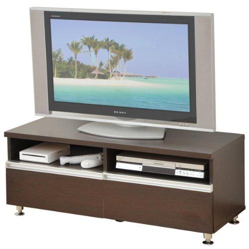 山善(YAMAZEN) テレビボード(幅100) ダークブラウン FTV-1040DW(DBR)