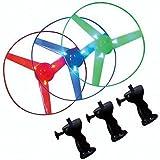 【光る玩具】ライトアップヘリコプター(12個入)  / お楽しみグッズ(紙風船)付きセット