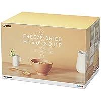 [Amazonブランド] SOLIMO 料亭の味 フリーズドライ みそスープ(顆粒タイプ) ×30食