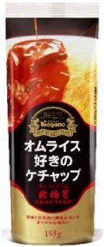 ナガノトマト オムライス好きのケチャップ 195g×3袋