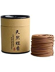 Hwagui お香 白檀 優しい香り 渦巻き線香 2時間盤香 40巻入