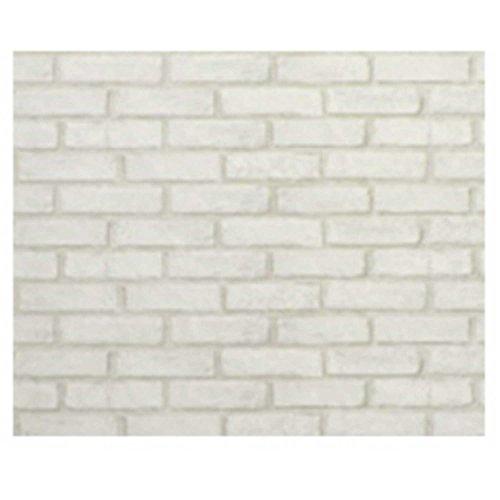 壁紙 92㎝×2.5m KH-205 ホワイトレンガ 奥行250×高さ92cm