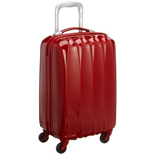 [アメリカンツーリスター] AmericanTourister Arona Lite / アローナライト スピナー55  (55cm/32L/2.7Kg) (スーツケース・キャリーバッグ・機内持込・Sサイズ・TSAロック・大容量・軽量・ファスナー・保証付き) 70R*00004 00 (レッド)