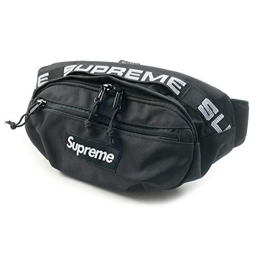 SUPREME シュプリーム 18SS Waist Bag ウエストバッグ 黒 フリー 並行輸入品