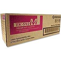 KYOCERA TK-592M MAGENTA TONER FOR USE IN FSC2026MFP FSC2126MFP 5,000 PAGE YIELD