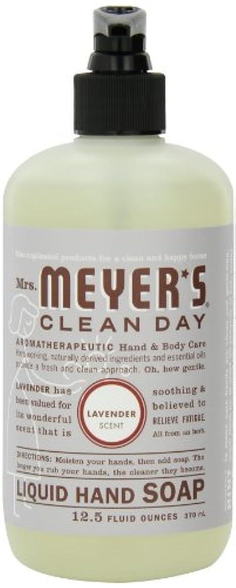腹部イベント投げ捨てるMrs. Meyer's Clean Day Liquid Hand Soap, Lavender, 12.5-Ounce Bottles (Case of 6) by Mrs. Meyer's Clean Day