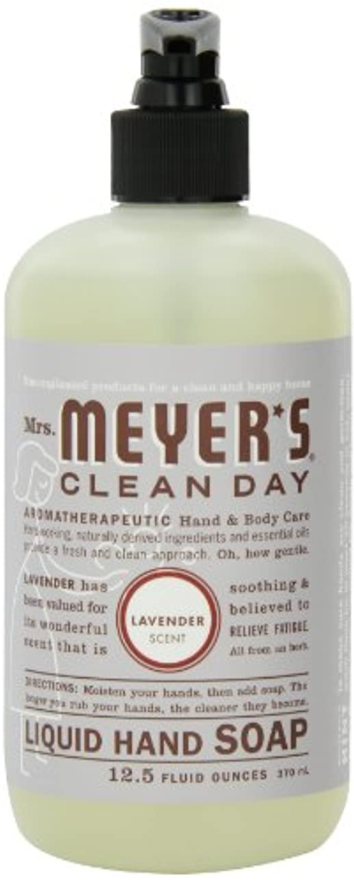 お別れ押す有害Mrs. Meyer's Clean Day Liquid Hand Soap, Lavender, 12.5-Ounce Bottles (Case of 6) by Mrs. Meyer's Clean Day