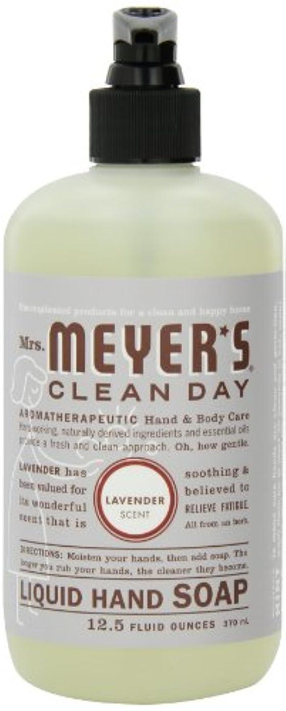 韓国契約した長椅子Mrs. Meyer's Clean Day Liquid Hand Soap, Lavender, 12.5-Ounce Bottles (Case of 6) by Mrs. Meyer's Clean Day