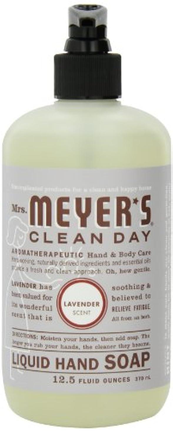 小さいホバートオーガニックMrs. Meyer's Clean Day Liquid Hand Soap, Lavender, 12.5-Ounce Bottles (Case of 6) by Mrs. Meyer's Clean Day
