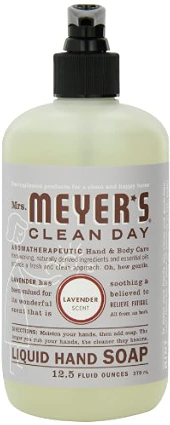 軌道める息苦しいMrs. Meyer's Clean Day Liquid Hand Soap, Lavender, 12.5-Ounce Bottles (Case of 6) by Mrs. Meyer's Clean Day