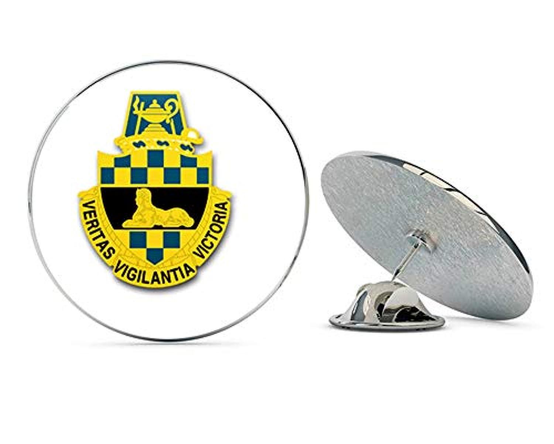 米国陸軍インテリジェンスセンターと学校ユニットクレストメタル0.75インチラペルハットピンタイタックピンバック