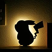 ピカチュウ LED ウォールライト TL-PWL-01