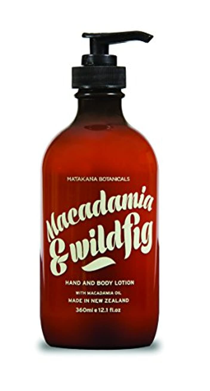 量で不十分なピンクMATAKANA BOTANICALS(マタカナボタニカル) マカダミア&フィグ ハンド&ボディローション
