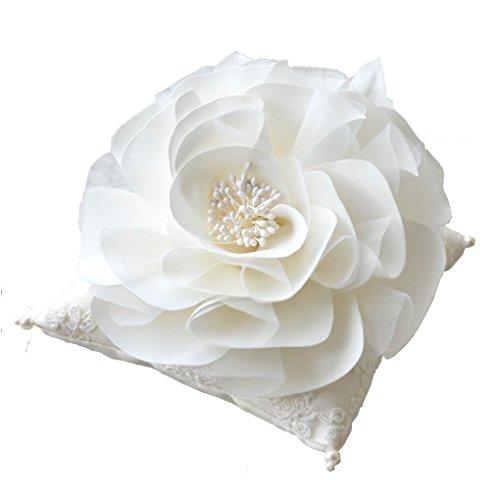 [ミュゼ] リングピロー (手作りキット) 結婚指輪向け [ フラワースクエア ] ウェディング 指輪置き (約14cm×14cm) プリマベーラ 0401-04100kit