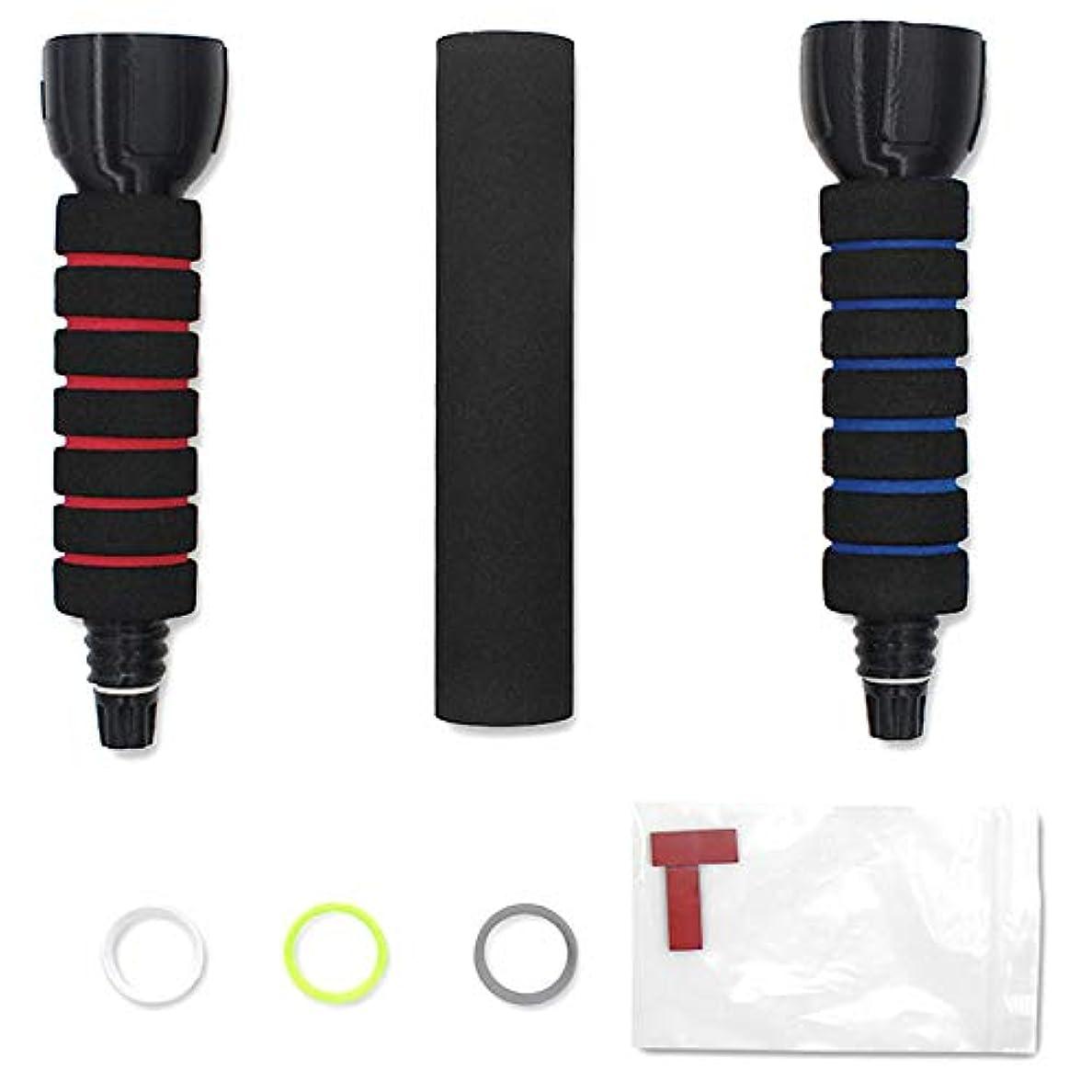 爪キリマンジャロ毛布RETYLY ハンドルのゲームパッド、 Rift用の接触コントローラー、スポンジのハンドル、スタンド、ホルダー、Beat Saberゲームのためのコントローラー