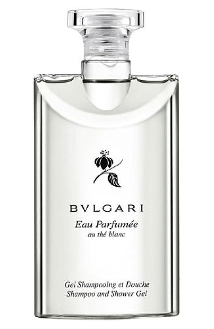 学習者ウォーターフロント湖Bvlgari Eau Parfumee Au The Blanc (ブルガリ オー パフュ-メ オウ ブラン) 2.5 oz (75ml) シャンプー?シャワージェル