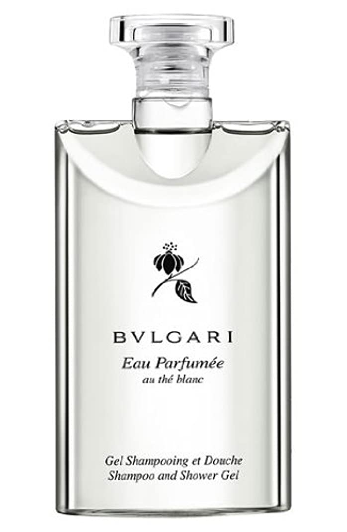 飛行場特権巨大なBvlgari Eau Parfumee Au The Blanc (ブルガリ オー パフュ-メ オウ ブラン) 2.5 oz (75ml) シャンプー?シャワージェル