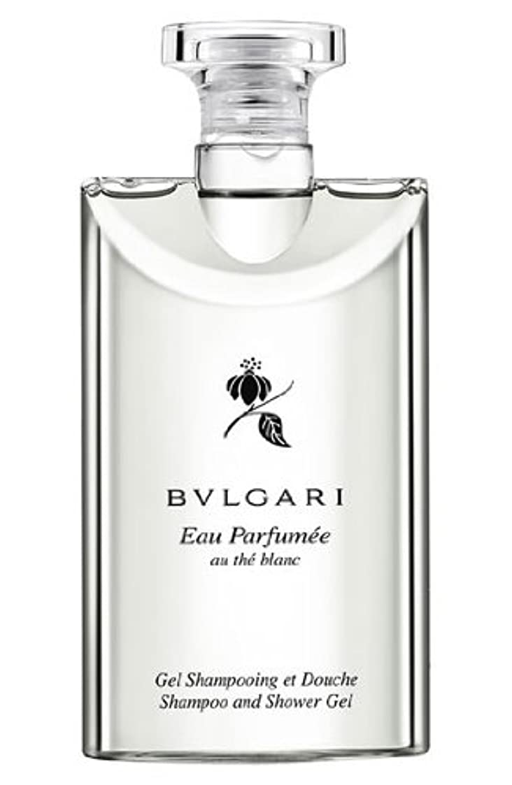 弾薬保護する意志Bvlgari Eau Parfumee Au The Blanc (ブルガリ オー パフュ-メ オウ ブラン) 2.5 oz (75ml) シャンプー?シャワージェル