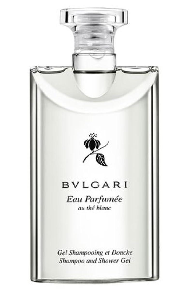 運命的なフェリー旅行者Bvlgari Eau Parfumee Au The Blanc (ブルガリ オー パフュ-メ オウ ブラン) 2.5 oz (75ml) シャンプー?シャワージェル