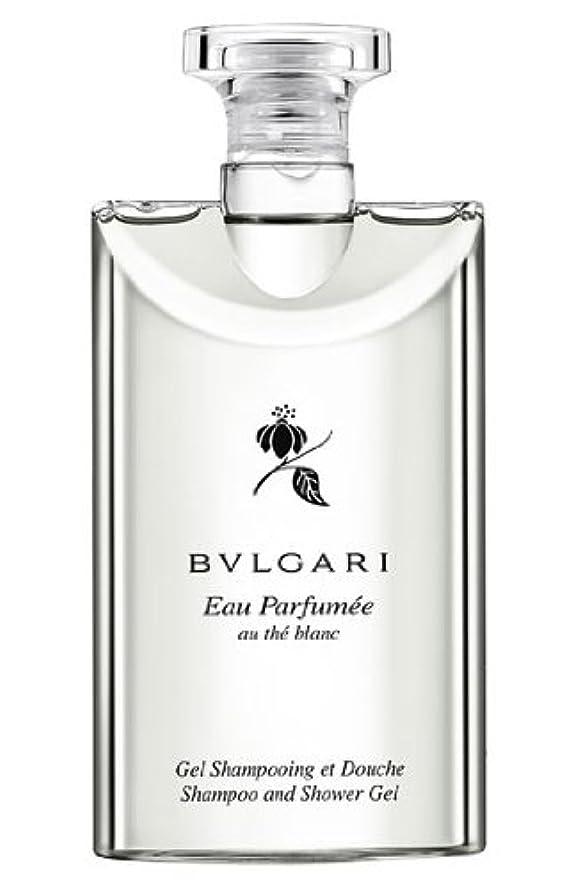 クラブ現実付与Bvlgari Eau Parfumee Au The Blanc (ブルガリ オー パフュ-メ オウ ブラン) 2.5 oz (75ml) シャンプー?シャワージェル