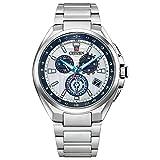 [Citizen] 腕時計 アテッサ 「CITIZEN Disney Collection(シチズン ディズニーコレクション)」 ATTESA 世界限定1000本 エコ・ドライブ電波時計 ダイレクトフライト CB5040-71A メンズ シルバー